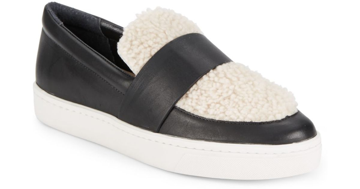 Loeffler Randall Leather Slip-On Sneakers best sale for sale free shipping genuine fake QKdnCtD7CC