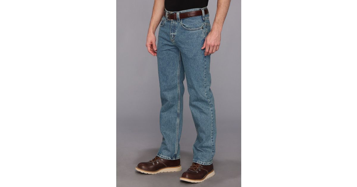 799110ce Carhartt Traditional Fit Straight Leg Jean in Blue for Men - Lyst