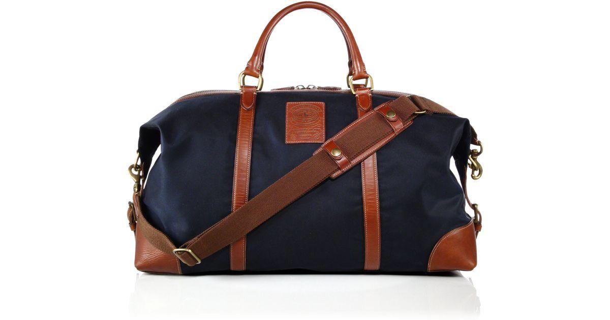 Ralph Lauren Big Polo Handbag Blue