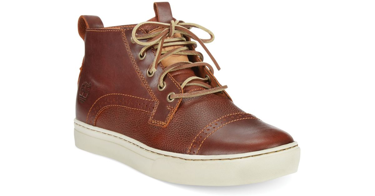 Lyst - Timberland Earthkeepers Adventure Cupsole Cap Toe Chukka Boots in  Brown for Men 8128d2020