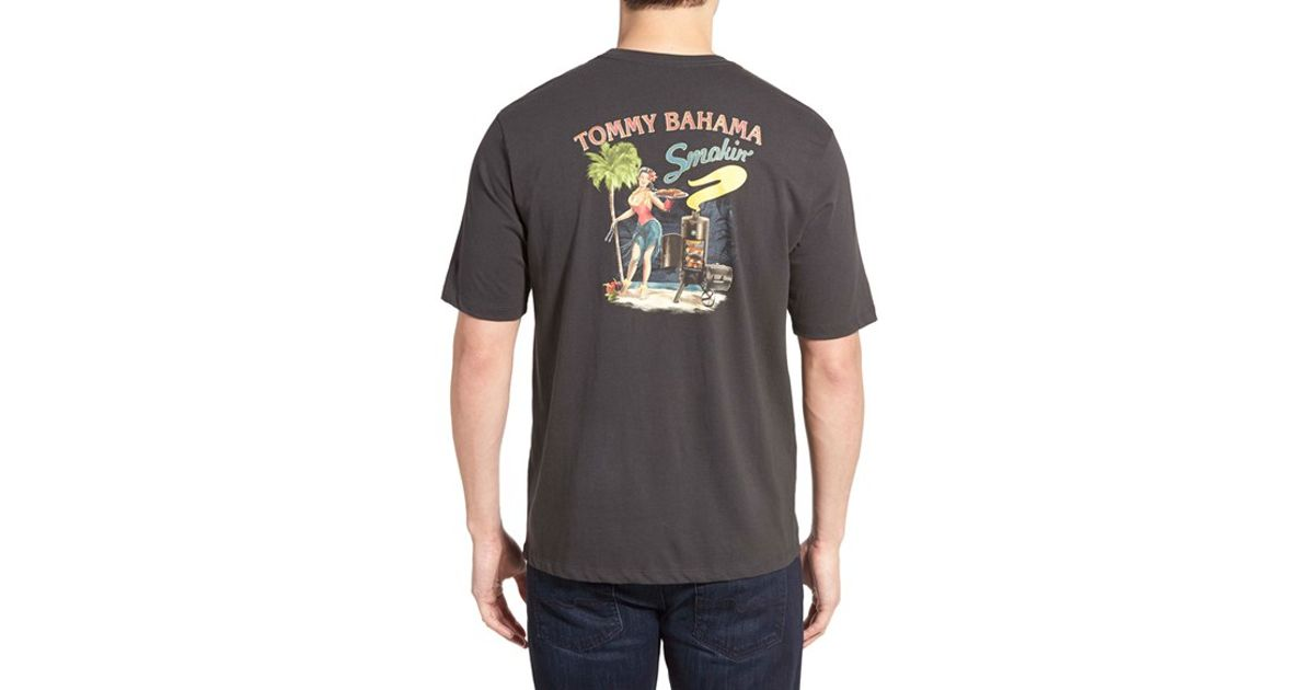 Tommy Bahama 39 Smokin 39 Graphic T Shirt In Black For Men Lyst