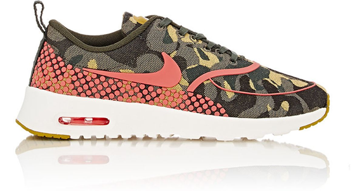 Nike Air Max Thea Formateurs Dimpression Camo Chaussures