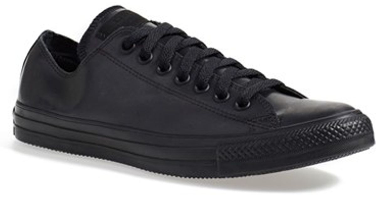 05d21834c64e5 Converse Chuck Taylor All Star Ox Rubber Sneakers in Black for Men - Lyst