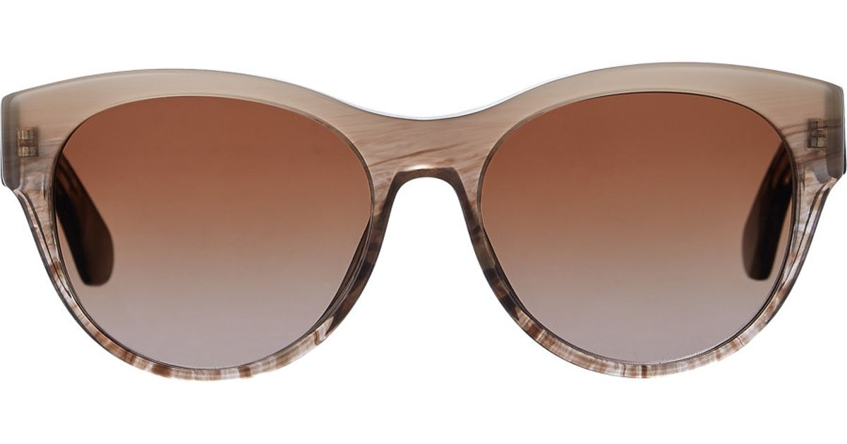 4ad8df6db9 Oliver Peoples Mande Sunglasses in Natural - Lyst