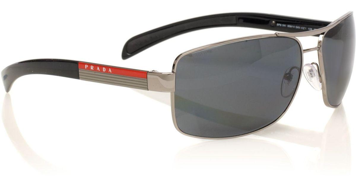 780dc035ec2c ... australia prada aviator mens sunglasses a34da 5f837 ...