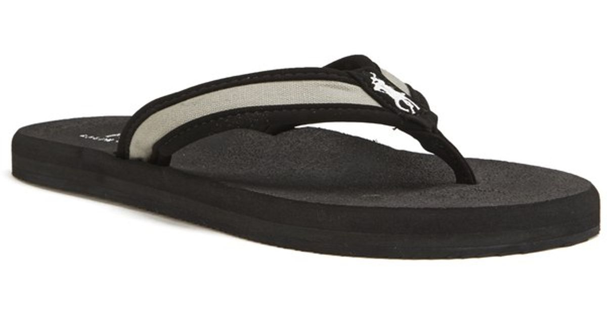 bda94b47d5884 Polo Ralph Lauren Men s Almer Ii -ne Flip Flops in Black for Men - Lyst