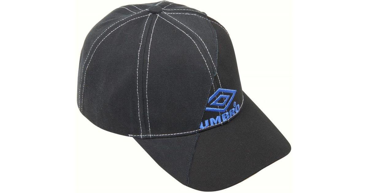 Lyst - Vetements VETEMENTS Umbro cap in Black for Men 7612d4633eca