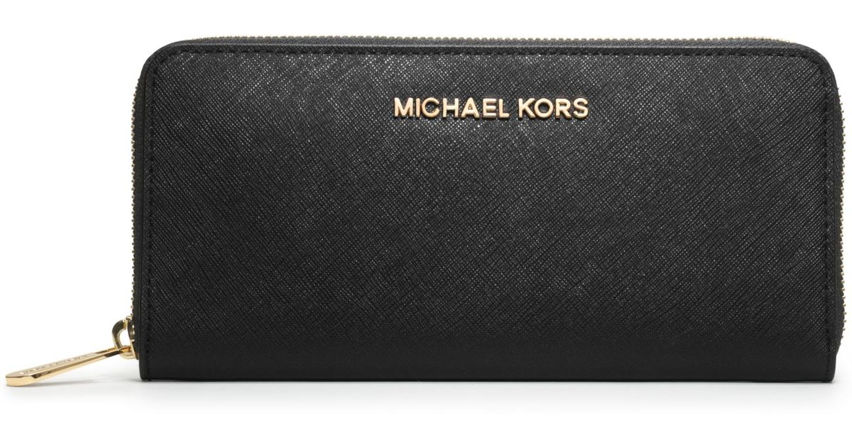 6df61a3eba6f michael kors saffiano jet set wallet amazon wallet - Marwood ...