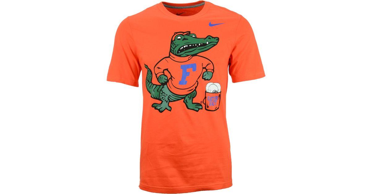 Lyst Nike Men 39 S Short Sleeve Florida Gators T Shirt In
