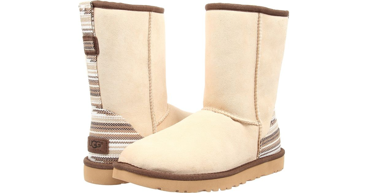 05c133eda44d92 low price ugg australia womens classic short serape boots size c803b 7c218   hot lyst ugg classic short serape in natural c055e 23f27