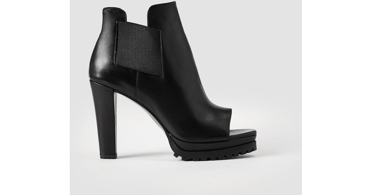 Get To Buy Sale Online AllSaints Sarris Open Toe Boot Free Shipping Pick A Best Many Styles sVVKs3SjY