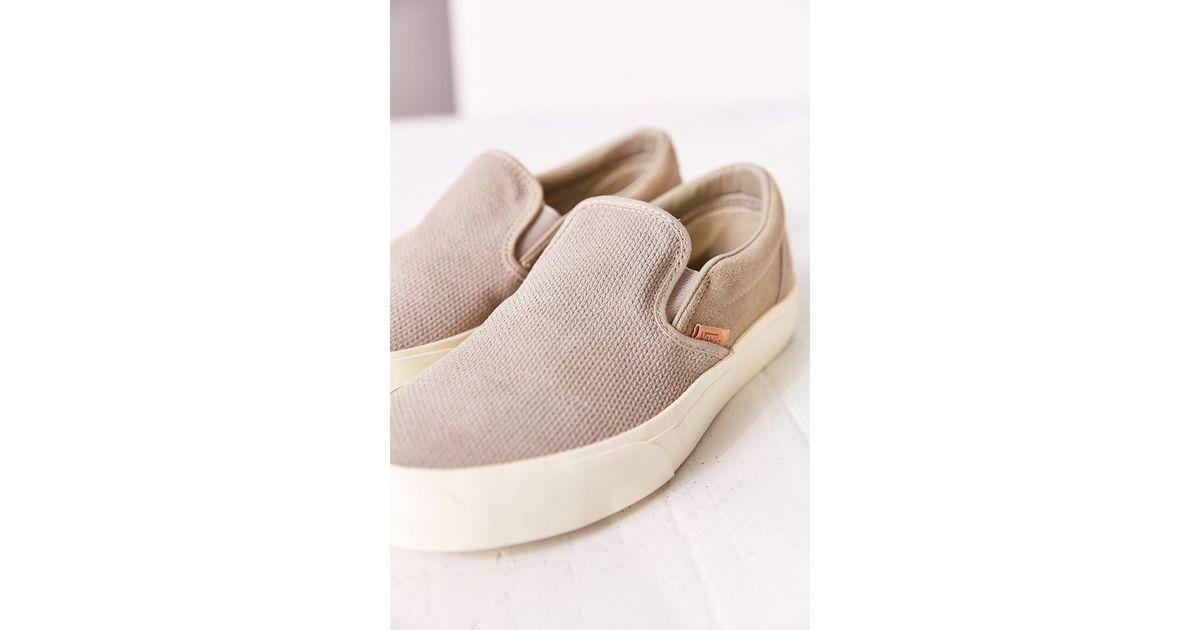 vans slip on shoes suede