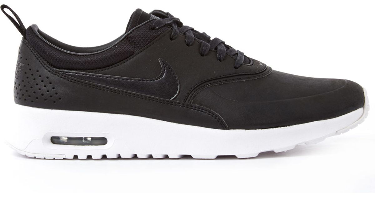Nike Thea Black Leather