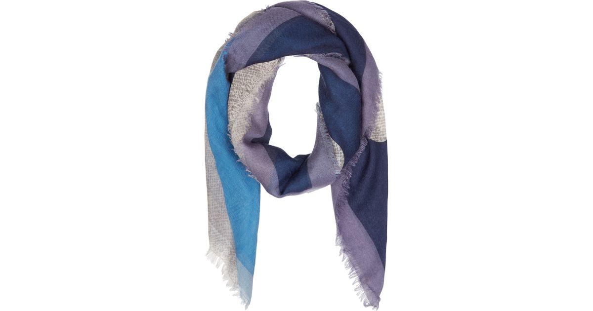 d2b5ab7a5 50% off fendi scarf purple and blue 5486d dcb9c
