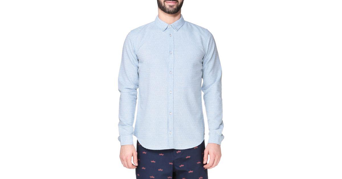 Dr Denim Long Sleeve Shirt In Blue For Men Lyst