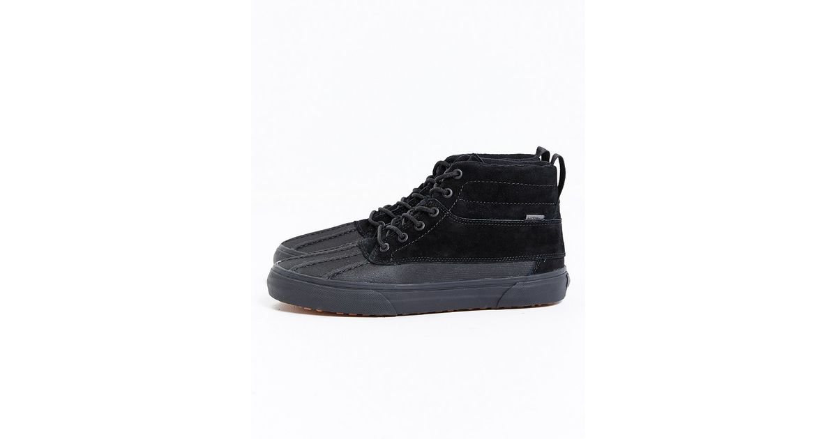 22dfedd19969f5 Lyst - Vans Sk8 Hi Del Pato Mte Boot in Black for Men