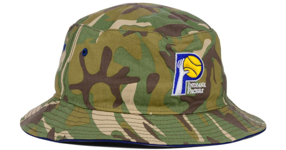 00f11829a3f Lyst - 47 Brand Indiana Pacers Nba Hwc Woodrow Bucket in Green for Men