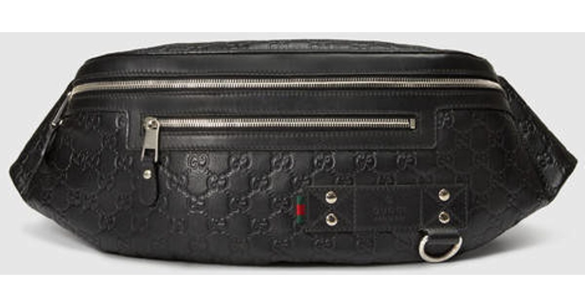 b0f994f013cb08 Gucci Belt Bag Black For Sale | Stanford Center for Opportunity ...