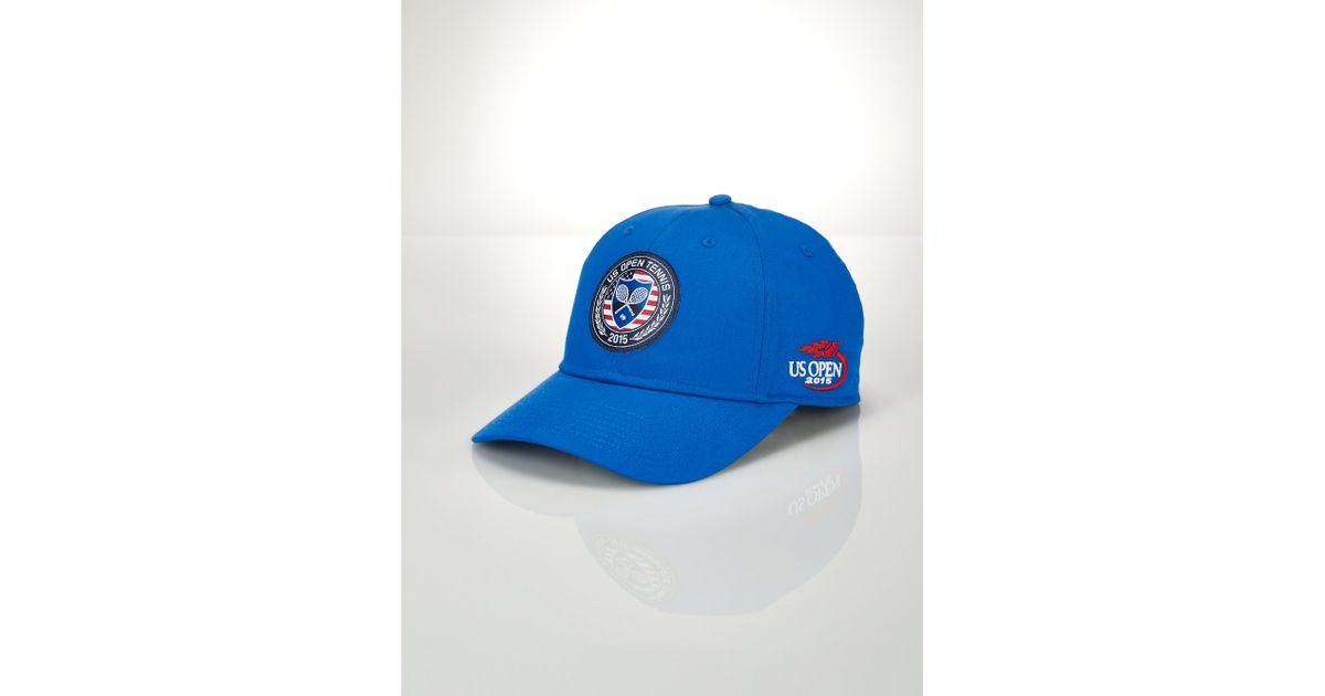 c7752b51d7747 Lyst - Polo Ralph Lauren Us Open Patch Baseline Hat in Blue for Men