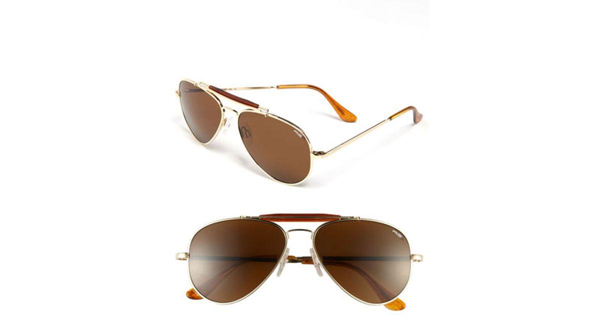 02c4b1f9c3 Lyst - Randolph Engineering  sportsman  57mm Polarized Sunglasses in  Metallic for Men
