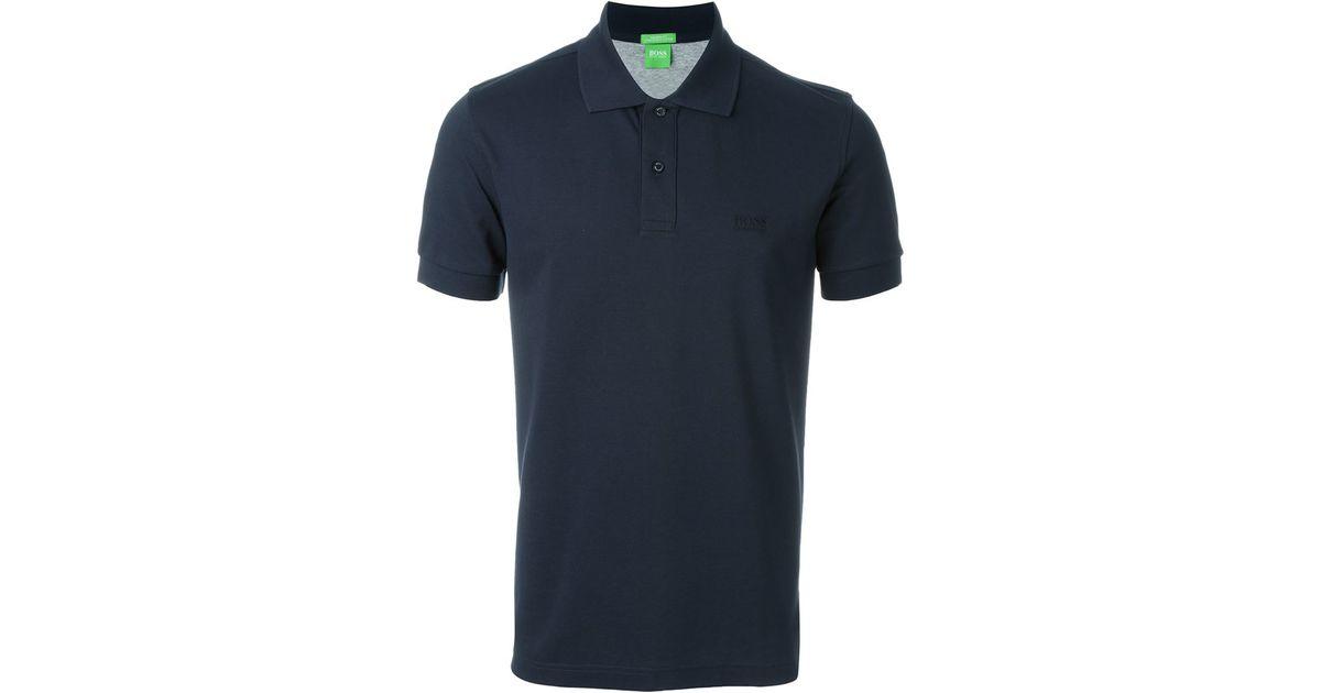 fd74e1c34 Lyst - Boss Classic Polo Shirt in Blue for Men