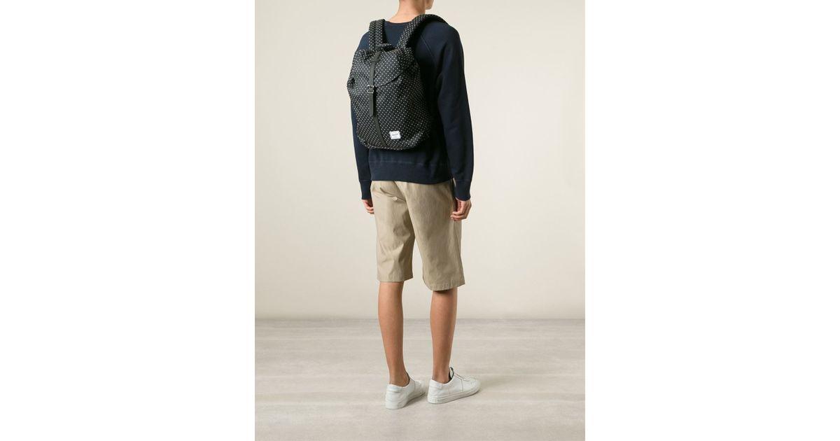 d0675dff2fb Herschel Supply Co. 'Post' Backpack in Black for Men - Lyst