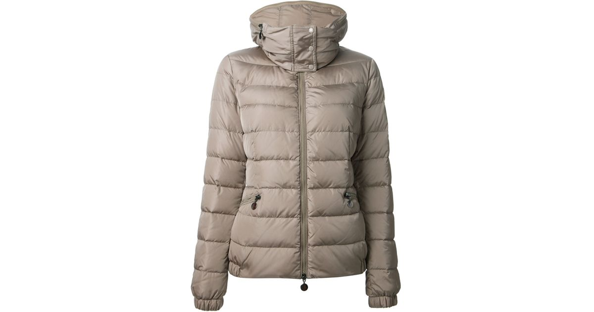 a69afcf85b5c Moncler Sanglier Padded Jacket in Natural - Lyst
