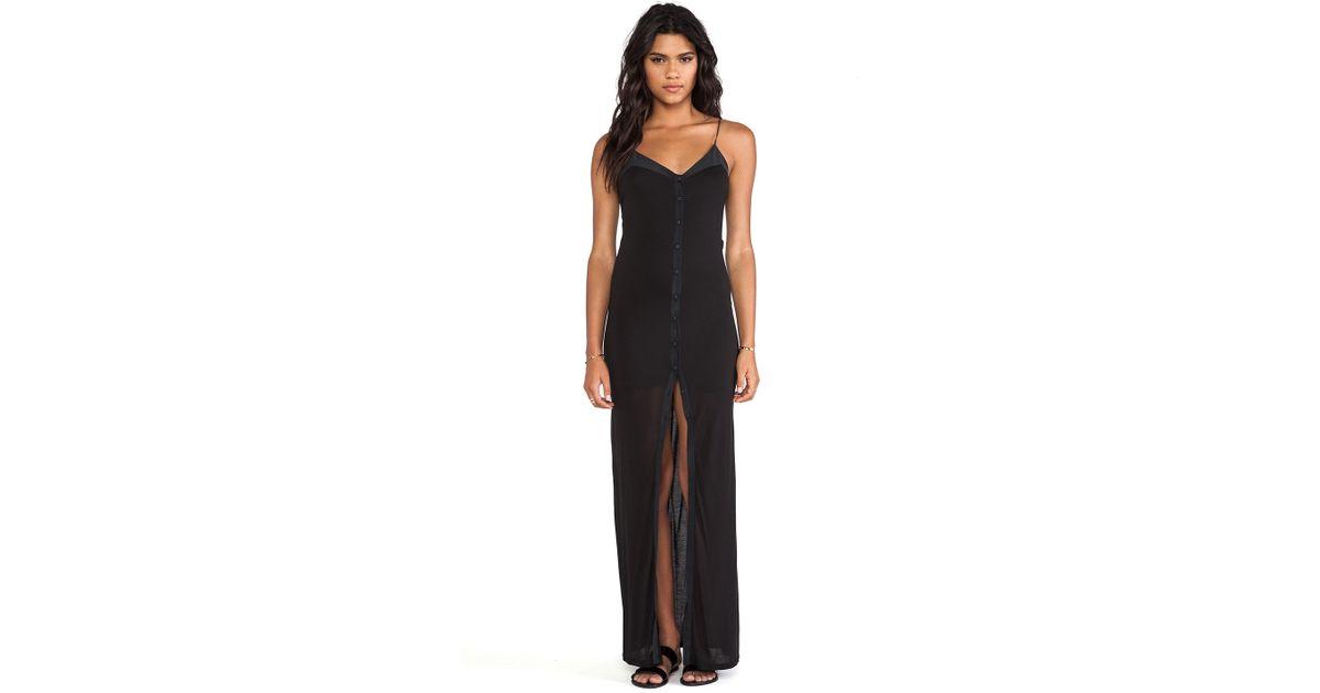 Lyst Bella Luxx Cami Maxi Dress In Black