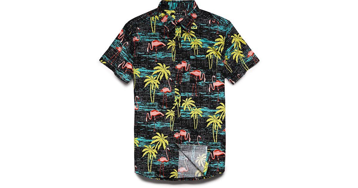 e0fa08bd3b8c Forever 21 Tropical Print Cotton Shirt for Men - Lyst