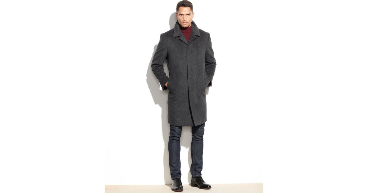 London Fog Overcoat Mens Jackets & Coats - Macy's
