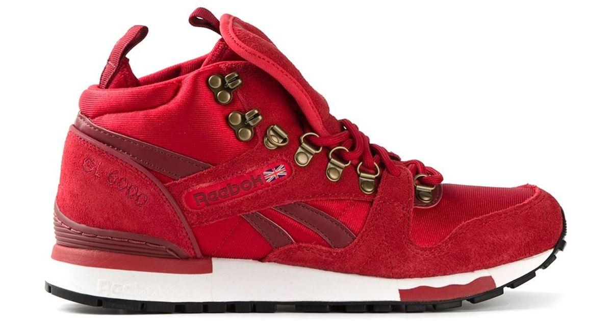 b99c376feee Lyst - Reebok Classics Sneakers in Red for Men