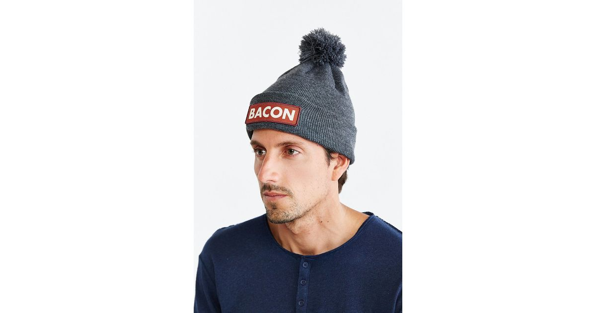 Lyst - Coal The Vice Bacon Pom Beanie in Gray for Men ac850283ce6