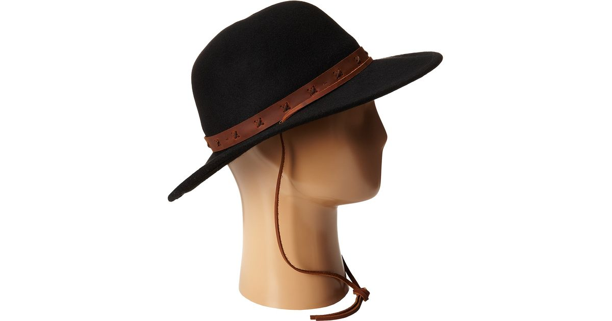 bf8207e28528d0 Lyst - Brixton Clay Hat in Black