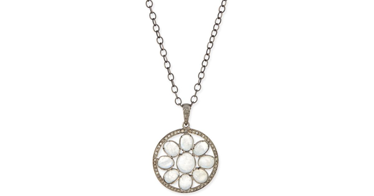 pic circle sample necklace silver of x life mandala modli sterling