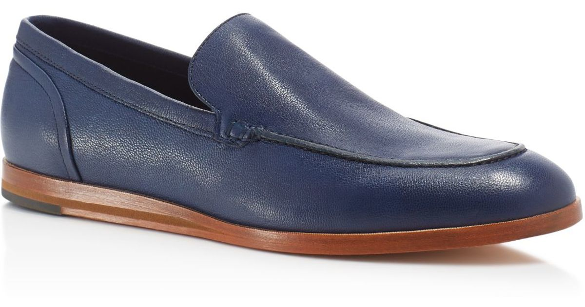 78a9068e25c Lyst - Cole Haan Bedford Venetian Loafers - Compare At  228 in Blue for Men