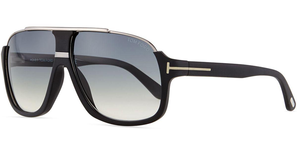 82d92f8a23 Lyst - Tom Ford Elliot Acetate Sunglasses in Black for Men
