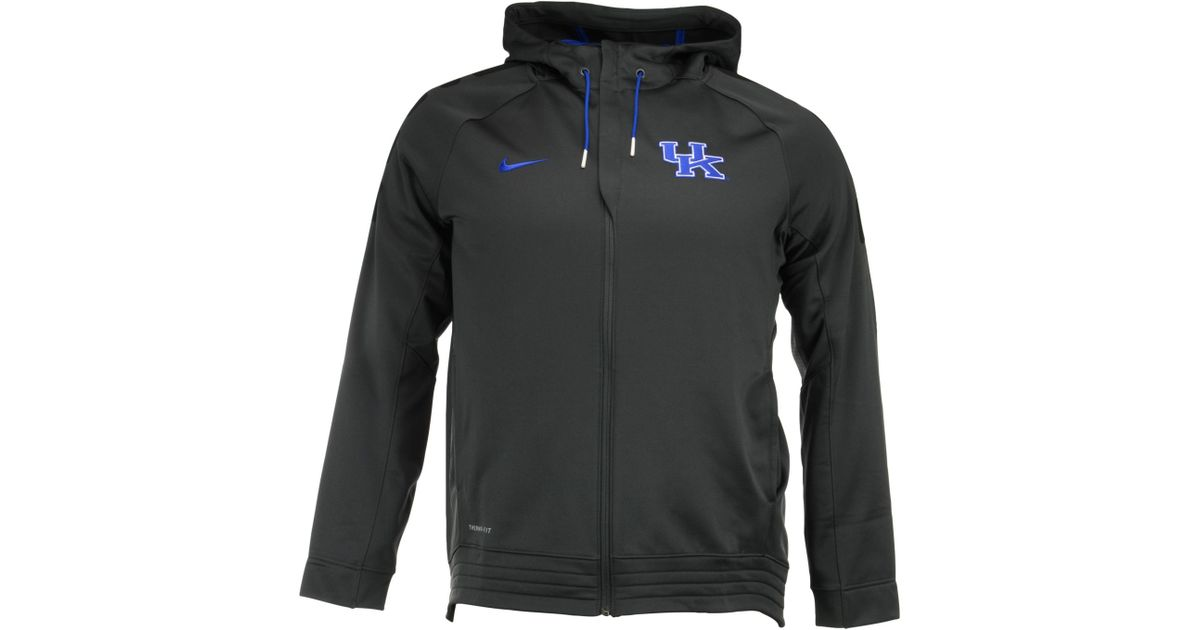 2d20012a Nike Men's Kentucky Wildcats Elite Stripe Full-zip Hoodie in Gray for Men -  Lyst