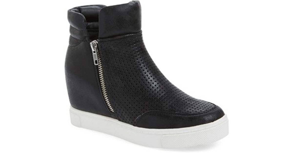 Steve 'linqsp' Black Sneaker Lyst Wedge In Madden IWbDHeE29Y