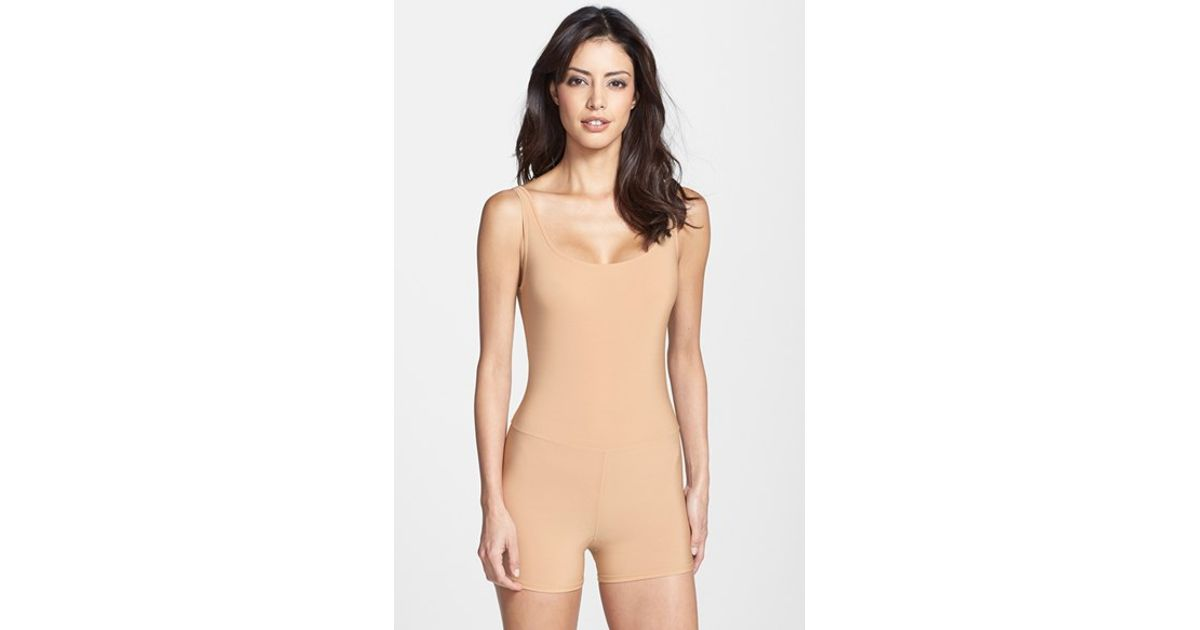 58889b18a3 Lyst - Only Hearts  second Skin  Bodysuit in Natural