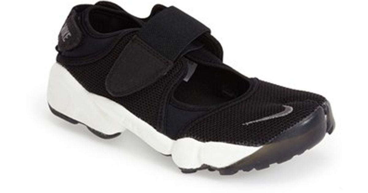 474d59a8aa3e Lyst - Nike  air Rift  Sneaker in Black
