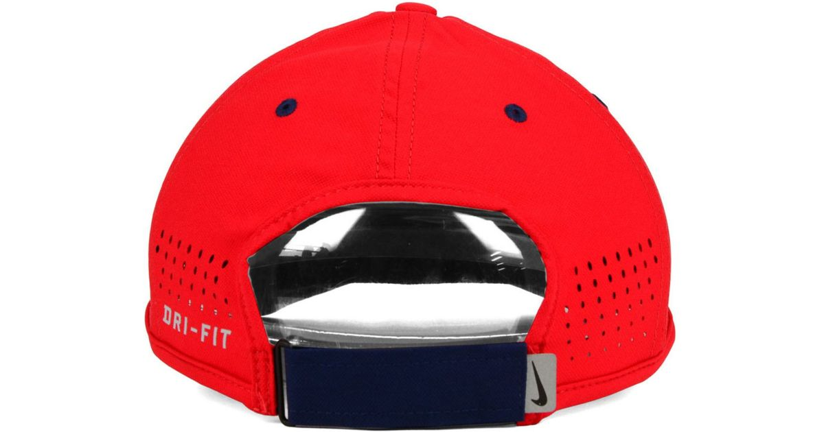 83854cd6f97 ... ireland lyst nike mississippi rebels dri fit coaches cap in red for men  43212 ff52b