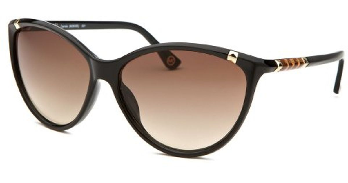 Michael Kors Camila Sunglasses  michael michael kors women s camila cat eye black sunglasses in