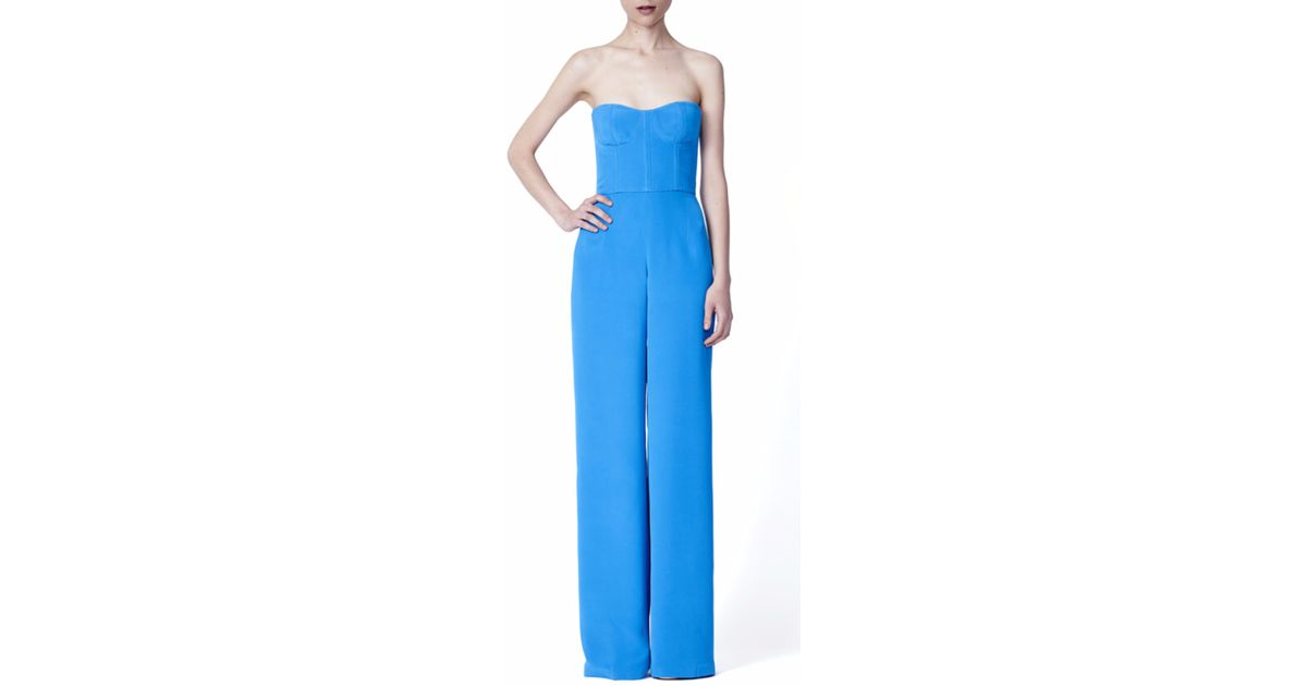 New Point Huit Jumpsuit In Blue Turquoise  Save 53  Lyst