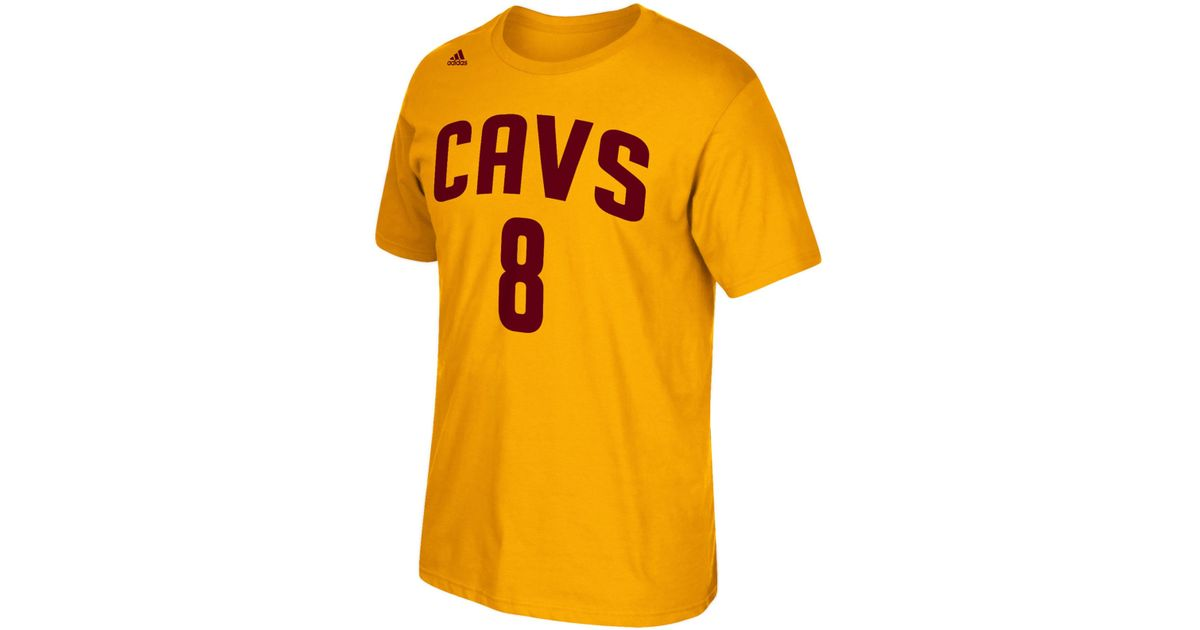 fdb4401fd40 adidas Men s Matthew Dellavedova Cleveland Cavaliers Player T-shirt in  Metallic for Men - Lyst