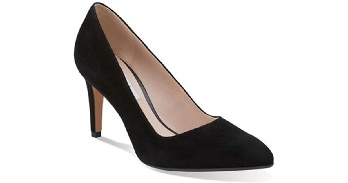 c2a5d499e30 Lyst - Clarks  Dalhart Sorbet  Pointy Toe Pump in Black