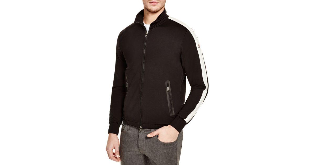 a6b5e234d Lyst - Moncler Hookup Track Jacket in Brown for Men