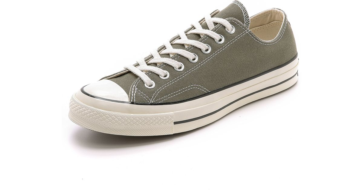 e4255a4aedee Lyst - Converse Chuck Taylor All Star  70S Canvas Sneakers in Green for Men