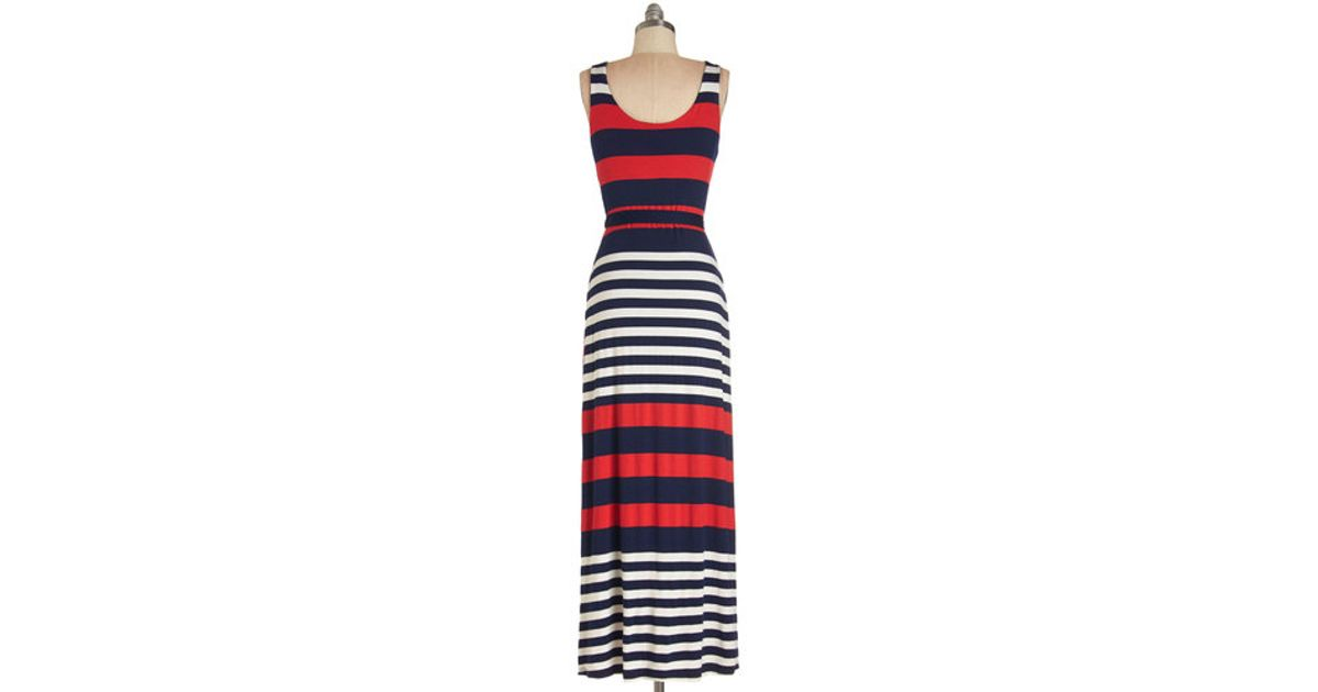56dfcd0d6a9 Lyst - Gilli Cheers On The Cape Dress in Blue
