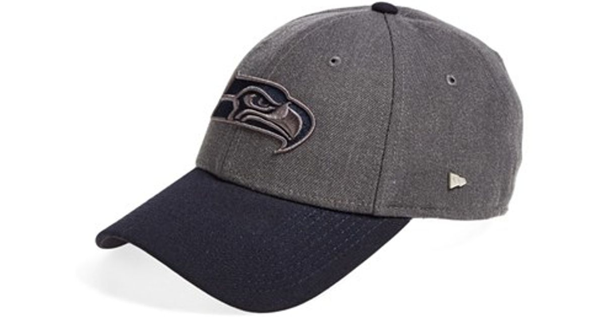 KTZ - Gray  ek Brimley - Seattle Seahawks  Baseball Cap for Men - Lyst 21c68ef5ae8