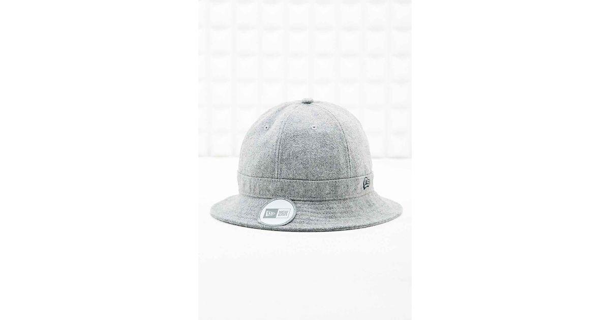 5c31dc8e90a KTZ Melton Bucket Hat In Grey in Gray for Men - Lyst
